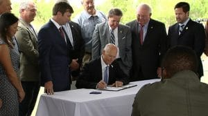Governor Scott Signs Triumph Bill